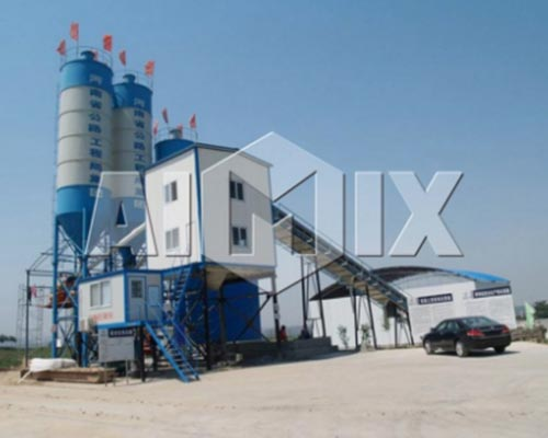 dry batch concrete plant