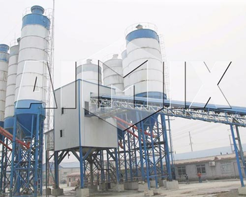 ready mixed concrete plant