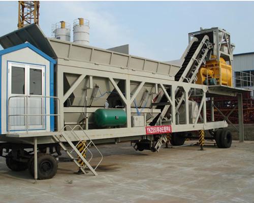 portable cement plant