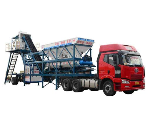 mobile concrete batch plant