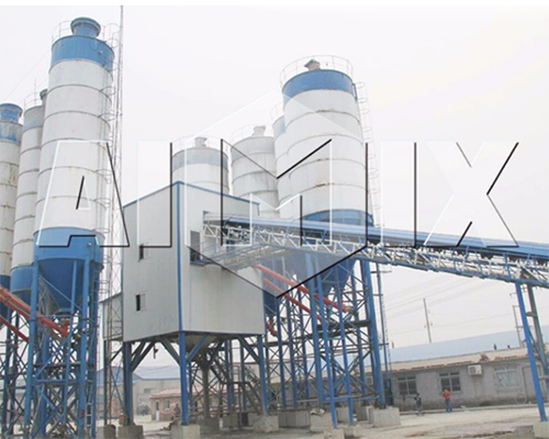 Wet Batch Concrete Plant for Sale in Sri Lanka