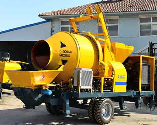 Diesel concrete pump machine for sale