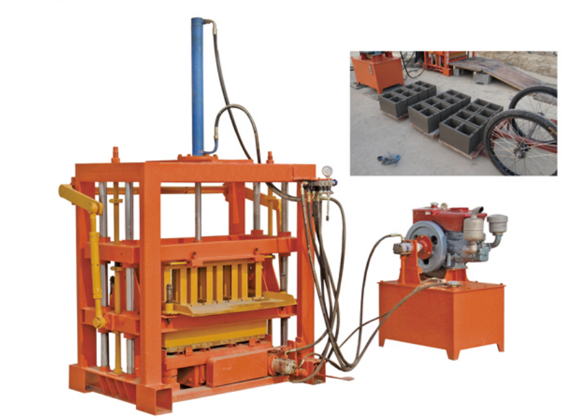 High quality brick block making machine