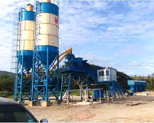 Concrete mixing plant for sale