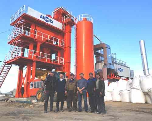 hot sale asphalt mixing plant in Aimix