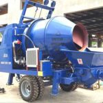 Concrete Mixer with Pump for Sale in Sri Lanka