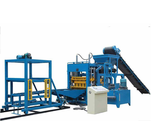 Concrete brick making machine for sale in Aimix
