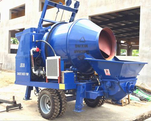 Hot sale concrete mixer pump