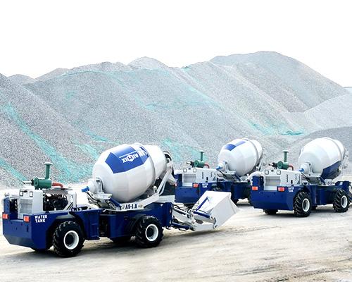self loading concrete mixer in Aimix
