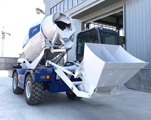 Buy self loading concrete mixer in Aimix