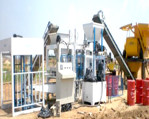 buy hollow block machine in Aimix