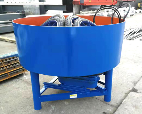 Pan mixer equipment
