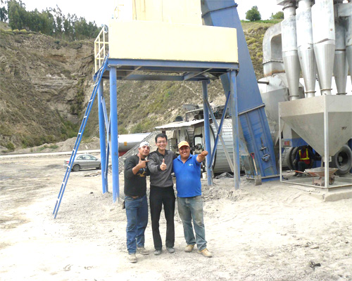 Find asphalt plant in Aimix