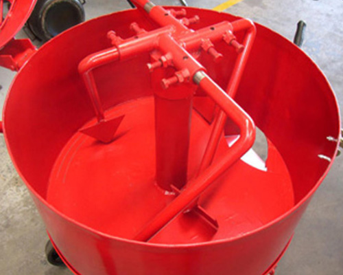 concrete pan mixer equipment