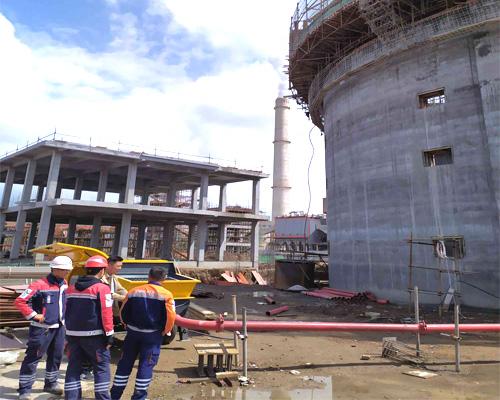 Aimix concrete pump in Sri Lanka