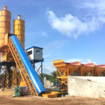 Belt Type Concrete Batching Plant for Sale in Sri Lanka