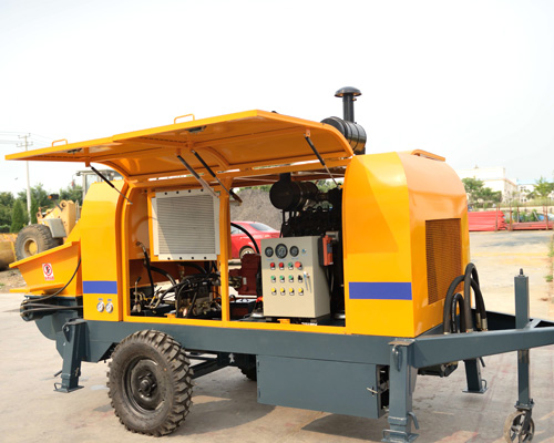 concrete pump equipment for hot sale