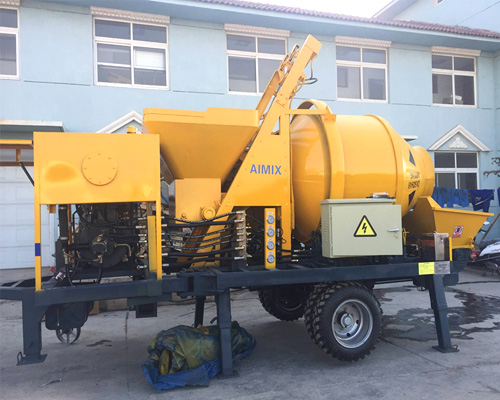 find a good concrete mixer pump