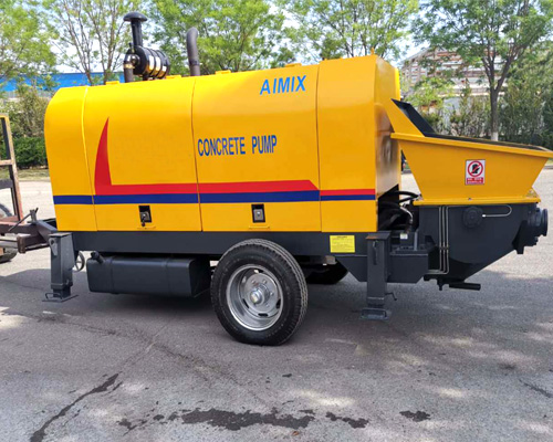concrete pump machines