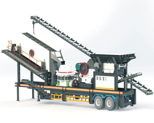 mobile stone crusher machine