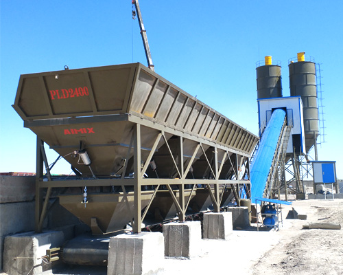 buy concrete plant from Aimix