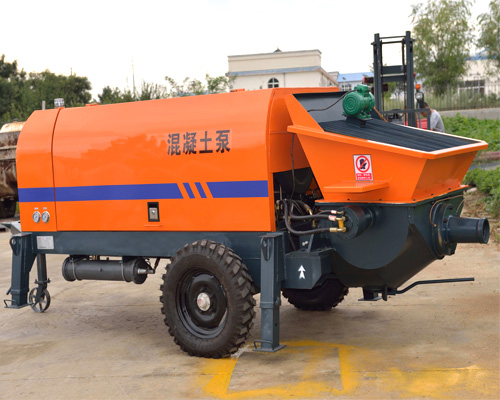 purchase small concrete pump in Aimix