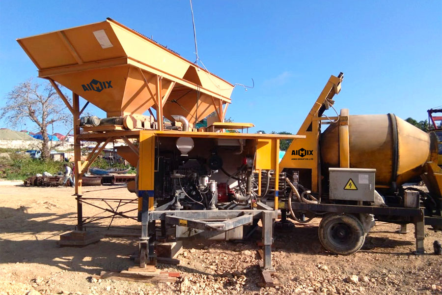 buy a concrete mixer pump from Aimix Group
