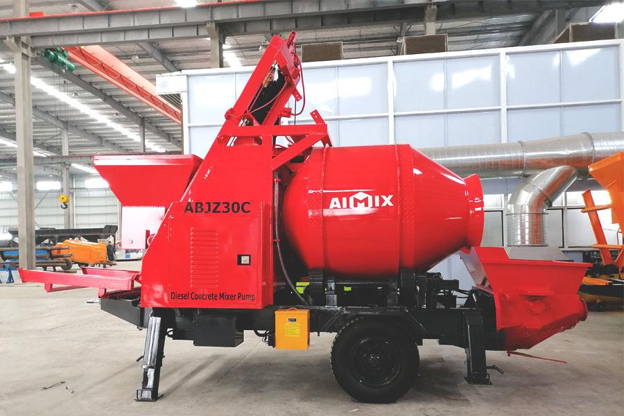 mixer pump machine for sale