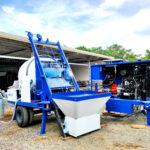 Portable Concrete Mixer with Pump for Sale in Sri Lanka