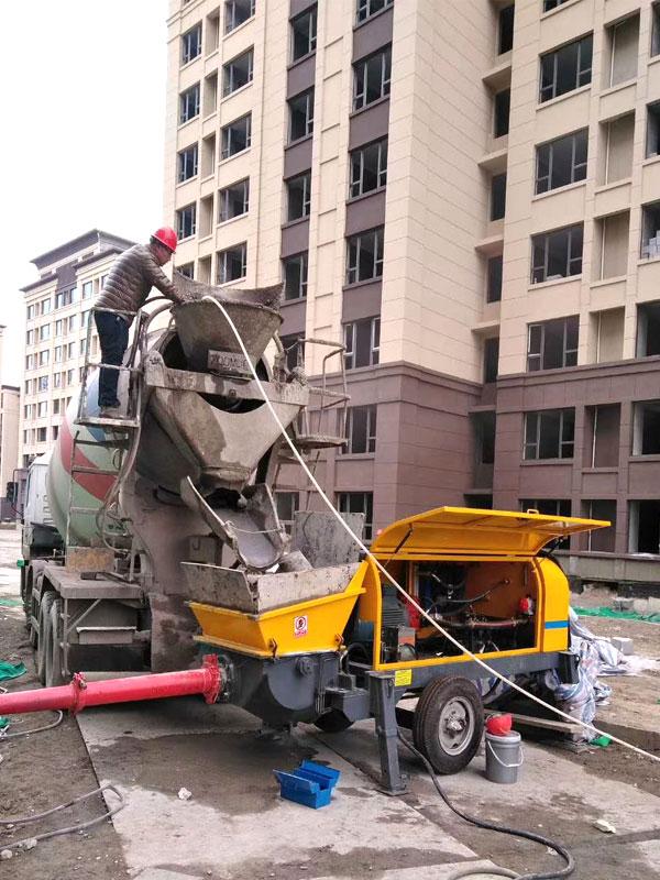 concrete pump machines for sale