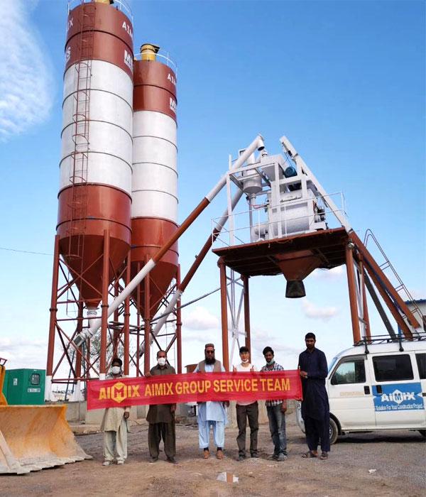 skip hoist conveyor concrete plant manufacturer