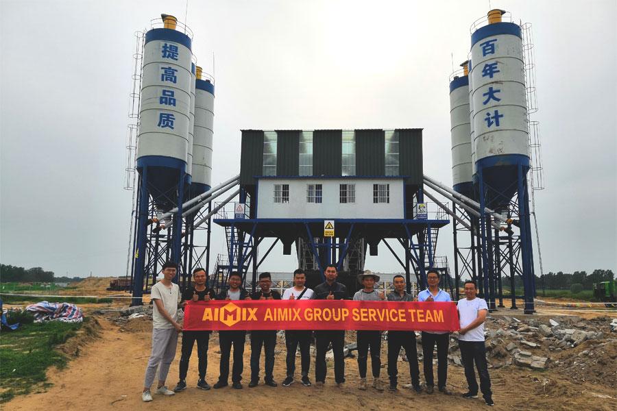 good price aimix concrete plant for sale