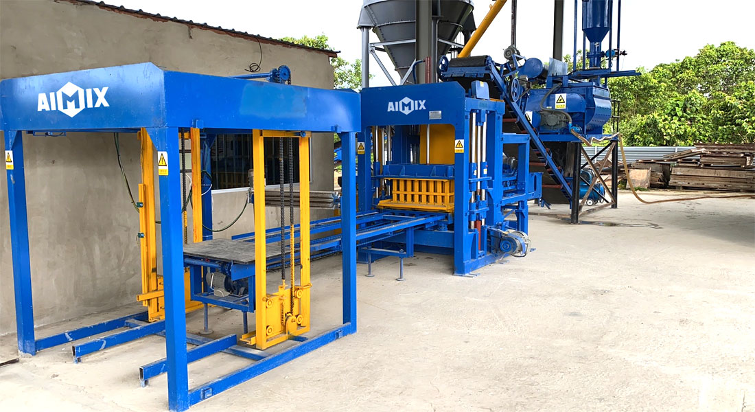 details of fly ash brick machines