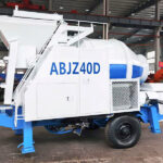 Hydraulic Hopper Concrete Mixer Pump for Sale in Sri Lanka