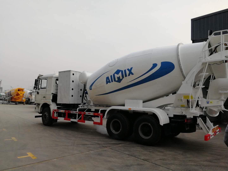 mixer tank truck