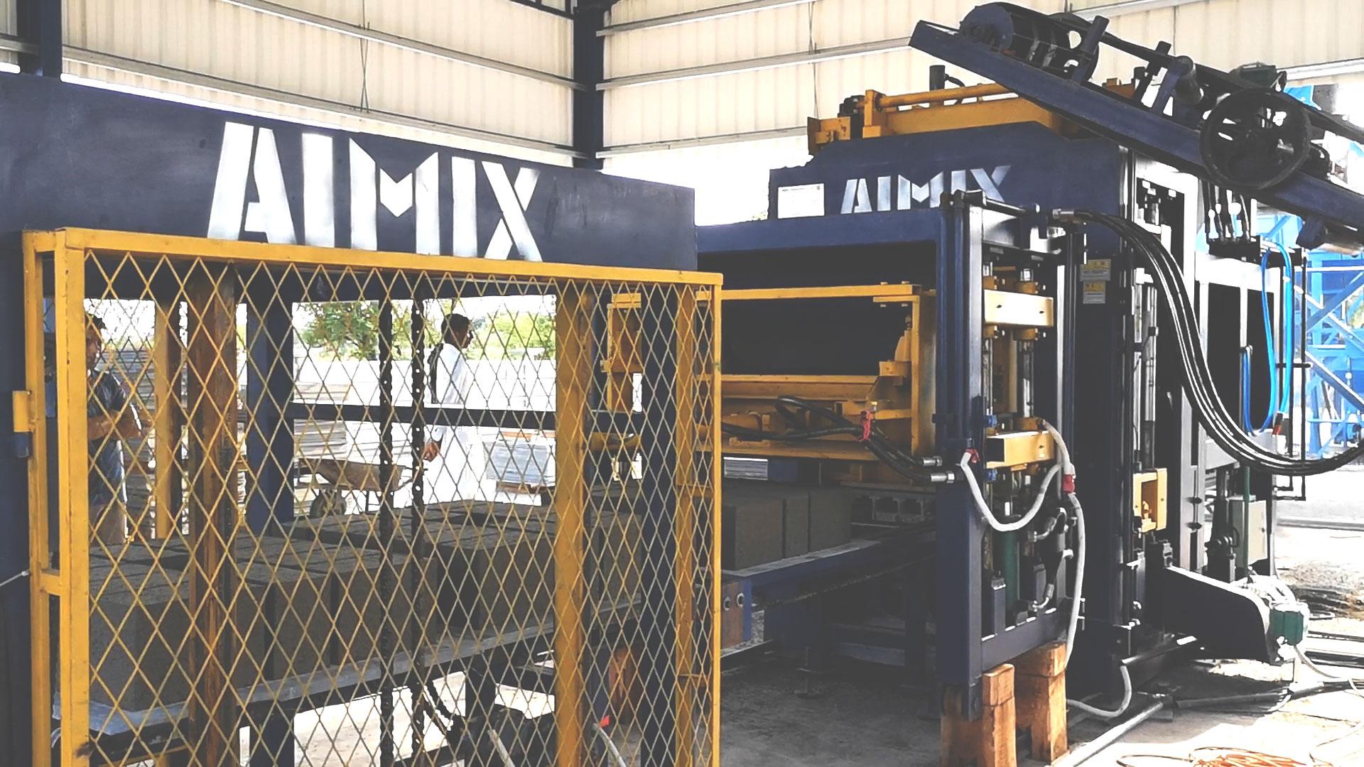 interlocking manufacturing machine