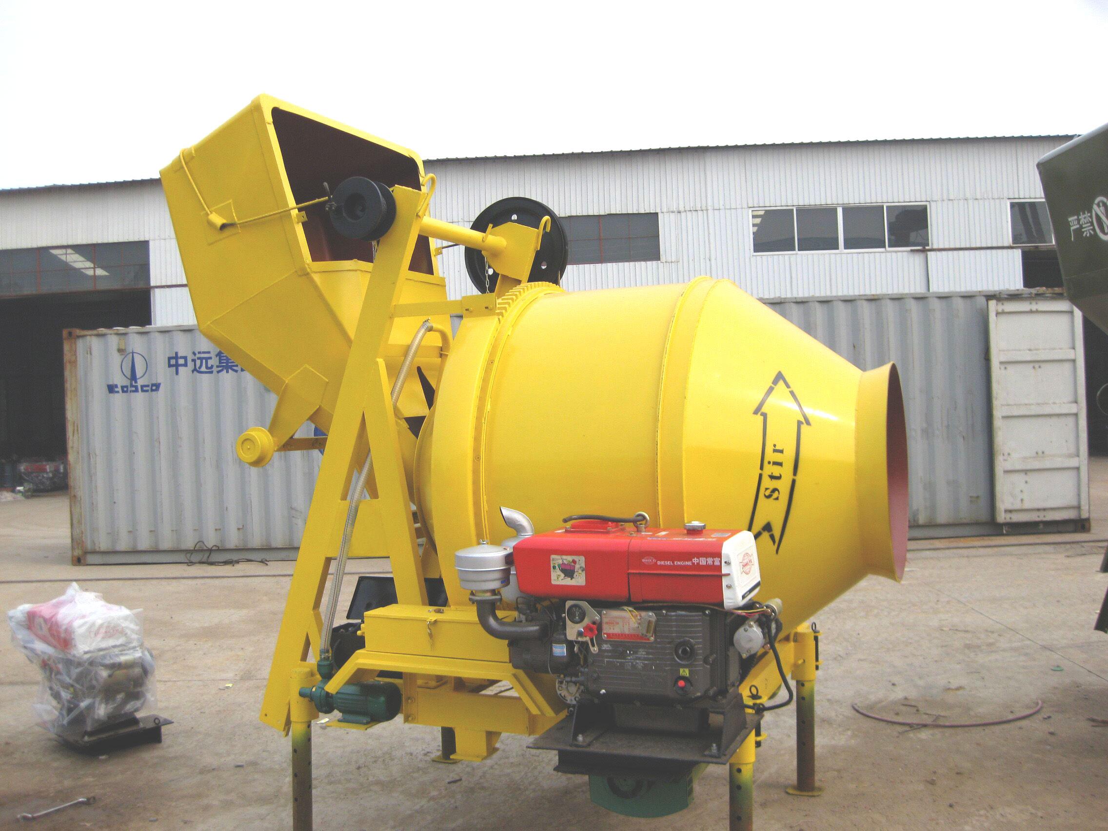 aimix diesel concrete mixers