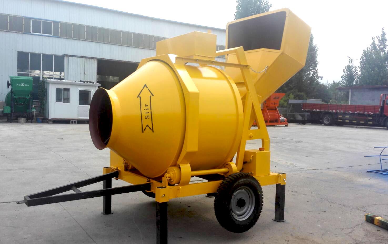 diesel engine concrete mixer for sale