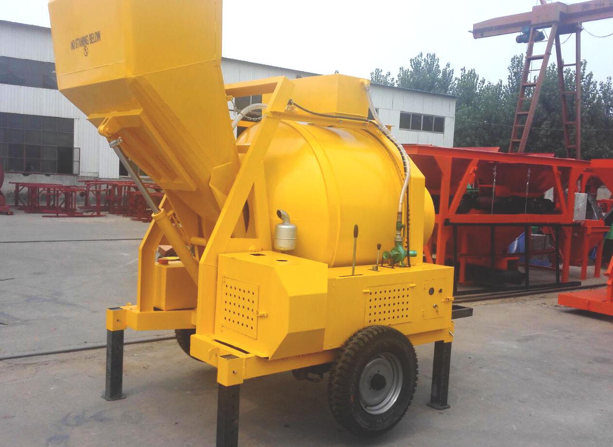 diesel concrete mixer equipment