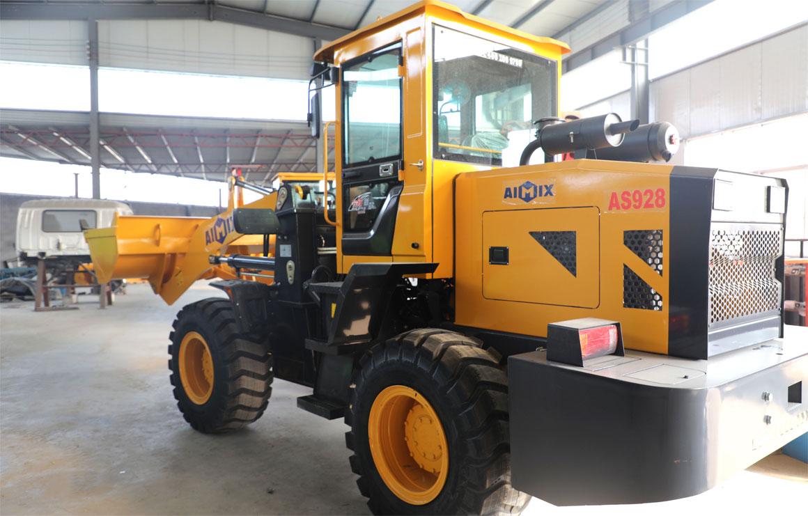 wheel loader equipment