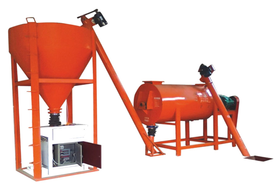 dry mix mortar plant in Aimix Group