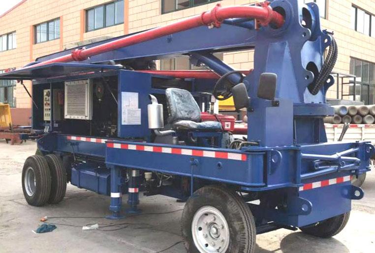 mini concrete boom pump for sale