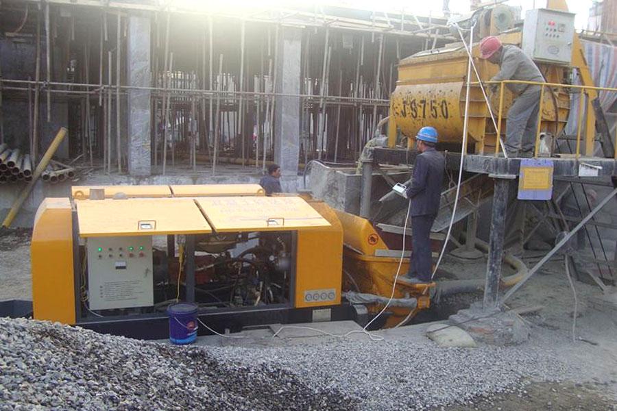 concrete pump machines
