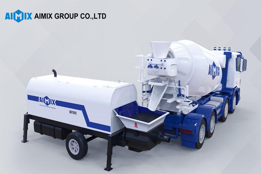 aimix concrete pump equipment