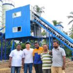 Ready Mixed Concrete Plant for Sale in Sri Lanka