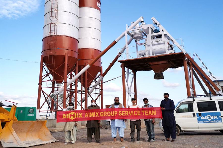 aimix group ready mix plant equipment