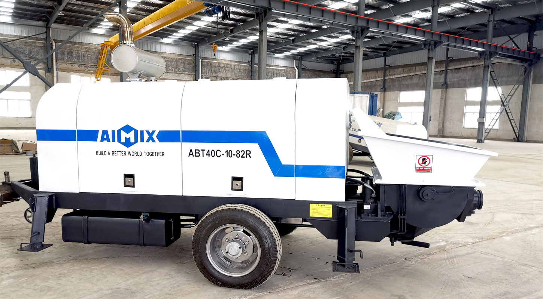 aimix pumping machine
