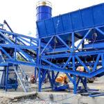 Portable Concrete Batching Plant for Sale in Sri Lanka