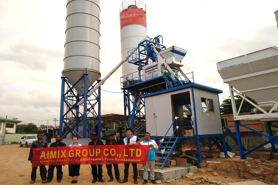 aimix ready mix equipment for sale