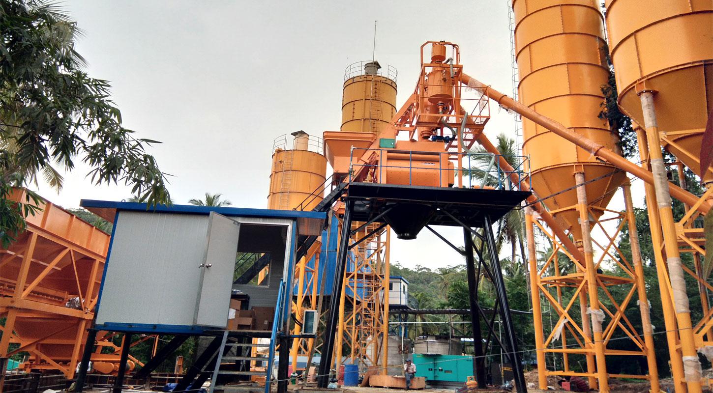 concrete mixer of ready mix plant